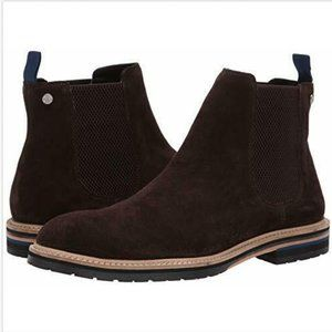Original Penguin Men's Hugh Suede Boot, Brown Sz 8
